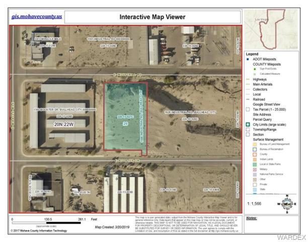 1596 Industrial Boulevard, Bullhead, AZ 86442 (MLS #956695) :: The Lander Team