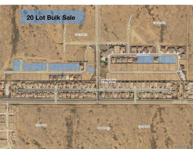 20 Lot Bulk Sale Castle Rock Village, Kingman, AZ 86409 (MLS #956715) :: The Lander Team