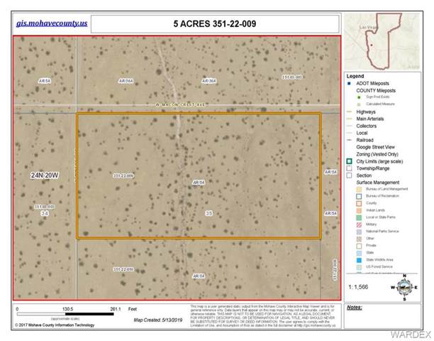 5 ACRES W Macon Crest Road, Dolan Springs, AZ 86441 (MLS #958194) :: The Lander Team