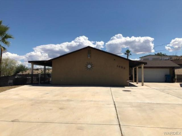 1653 Rio Vista Drive, Bullhead, AZ 86442 (MLS #958613) :: The Lander Team