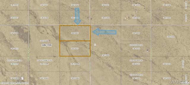 Lot  73 Bee Drive, Dolan Springs, AZ 86441 (MLS #958686) :: The Lander Team