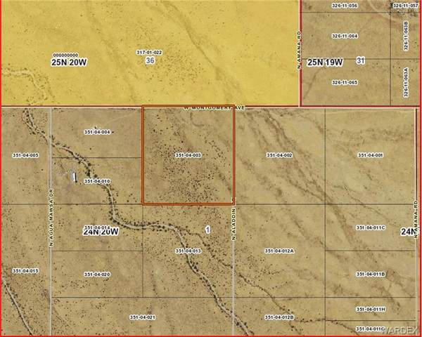 GTAC #6 S-1 LOTS19,3 Ash, Dolan Springs, AZ 86441 (MLS #959282) :: The Lander Team
