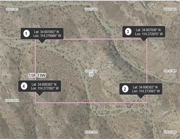 20 Acres Lone Tree Mtn Road, Lake Havasu, AZ 86404 (MLS #960339) :: The Lander Team