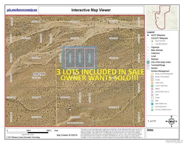 CANYON DRIVE (3) 1.25 ACRES = 3.75 ACRES TOTAL, Dolan Springs, AZ 86441 (MLS #961358) :: The Lander Team