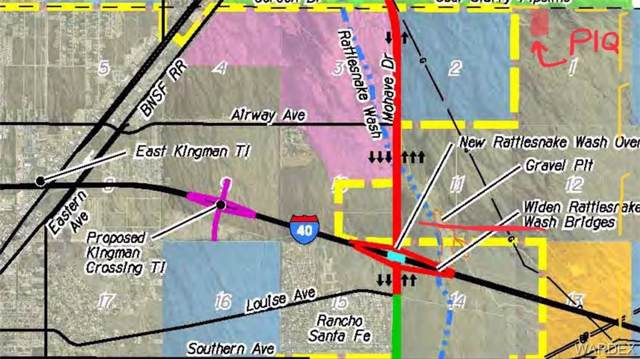 TBD Berry Road, Kingman, AZ 86409 (MLS #961886) :: The Lander Team