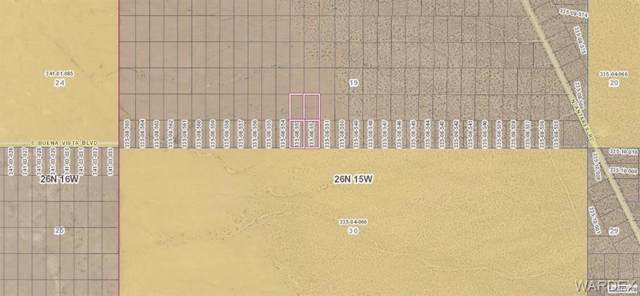 4 lots Buena Vista Boulevard, Kingman, AZ 86409 (MLS #962048) :: The Lander Team