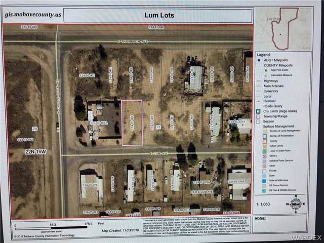 3505-3525 E Lum Avenue, Kingman, AZ 86409 (MLS #962606) :: The Lander Team
