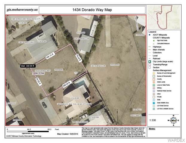 1434 Dorado Way, Bullhead, AZ 86442 (MLS #962732) :: The Lander Team