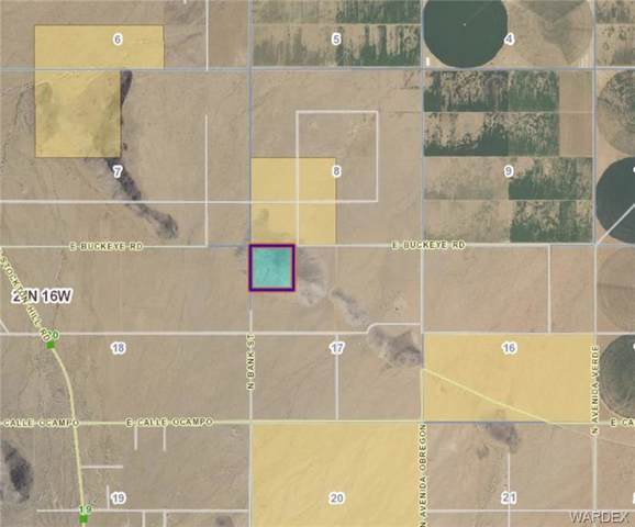 39.92 Acres Bank Street, Kingman, AZ 86401 (MLS #962769) :: The Lander Team