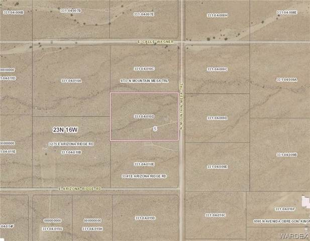 Lot 10 Mountain Mesa Trail, Kingman, AZ 86401 (MLS #962863) :: The Lander Team