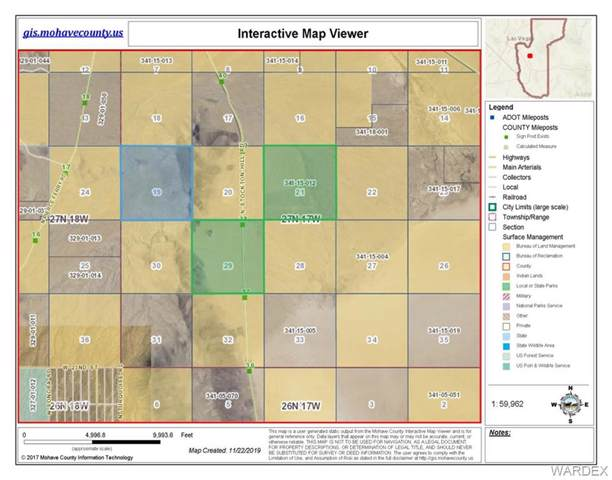 1920 Acres N Stockton Hill Road, Kingman, AZ 86409 (MLS #963002) :: The Lander Team