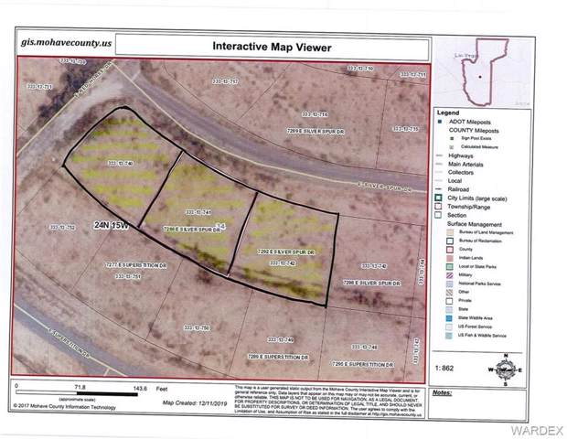 7286 E Silver Spur Drive, Kingman, AZ 86401 (MLS #963186) :: The Lander Team