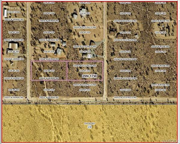 26525 N Ocotillo Road, Meadview, AZ 86444 (MLS #964058) :: The Lander Team