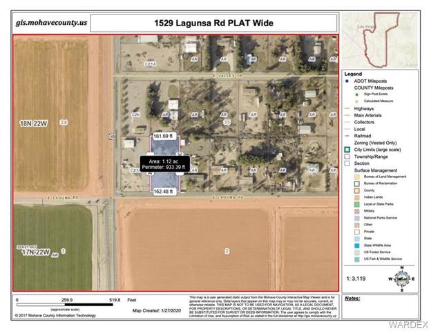 1529 Laguna Road, Mohave Valley, AZ 86440 (MLS #964187) :: The Lander Team