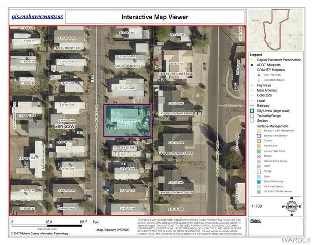 1836 El Monte Drive, Bullhead, AZ 86442 (MLS #964425) :: The Lander Team