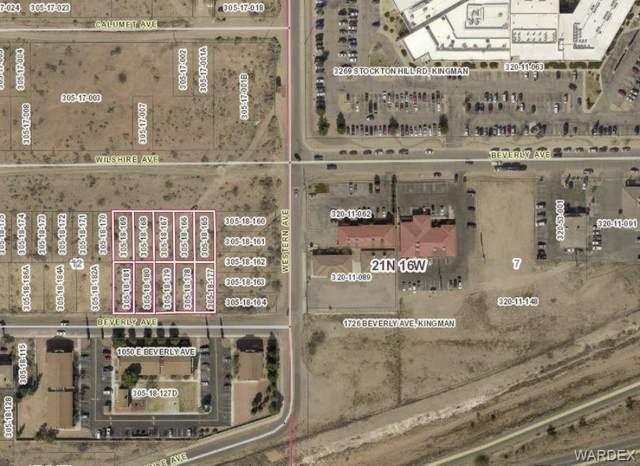 0000 Beverly & Wilshire Avenue, Kingman, AZ 86401 (MLS #964723) :: The Lander Team
