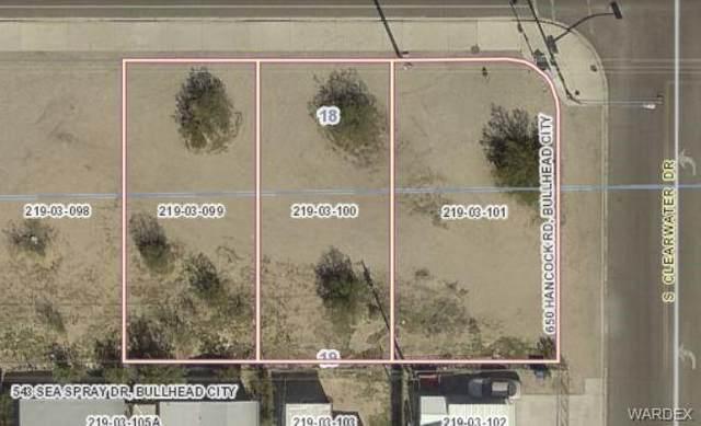 644, 648. 650 Hancock Road, Bullhead, AZ 86442 (MLS #965145) :: The Lander Team