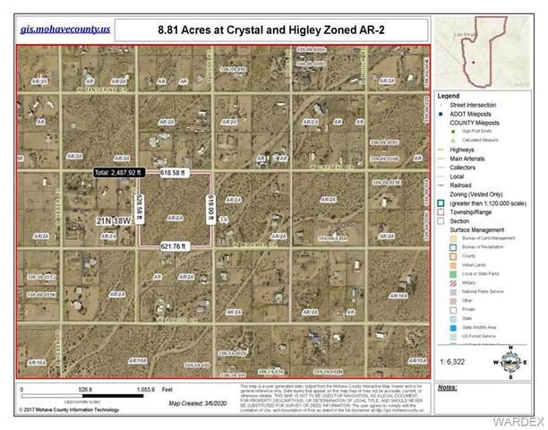 tbd Crystal, Golden Valley, AZ 86413 (MLS #965361) :: The Lander Team