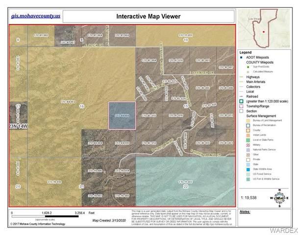 39.99 ACRES N Mine Road, Kingman, AZ 86409 (MLS #965574) :: The Lander Team