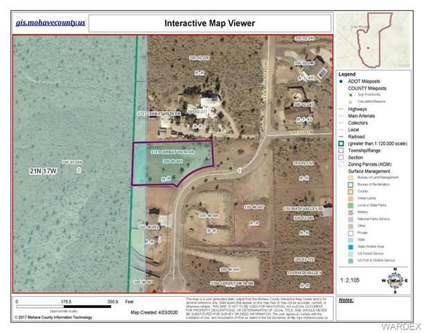 3721 Cerbat Vista Drive, Kingman, AZ 86409 (MLS #966439) :: The Lander Team