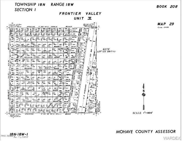 0000 Yuma Road, Yucca, AZ 86438 (MLS #966662) :: The Lander Team