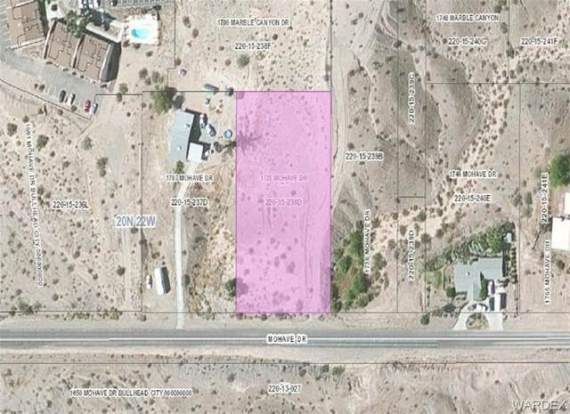 1723 Mohave Drive, Bullhead, AZ 86442 (MLS #966922) :: The Lander Team