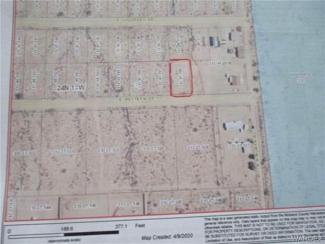 Lot 64 Western Dr., Kingman, AZ 86401 (MLS #967118) :: The Lander Team