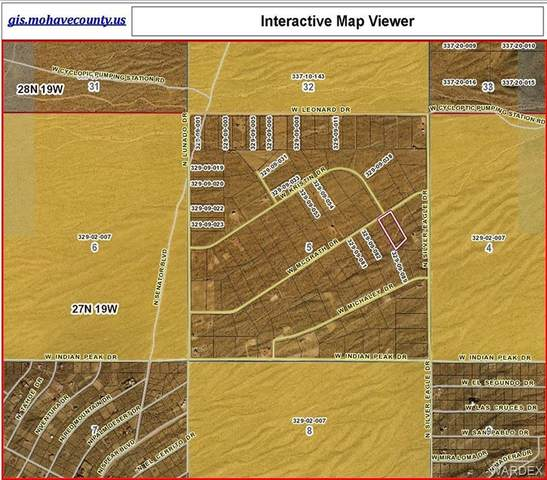 8586 W Mc Grath(Water And Power) Drive, White Hills, AZ 86445 (MLS #970026) :: The Lander Team