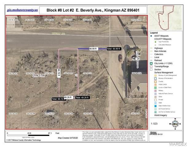 Lot #2 Beverly Ave., Kingman, AZ 86401 (MLS #970993) :: The Lander Team