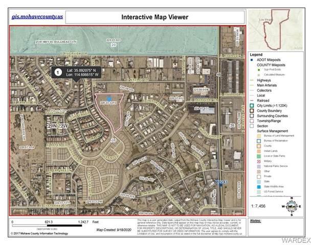 2349 San Carlos Drive, Bullhead, AZ 86442 (MLS #973912) :: The Lander Team