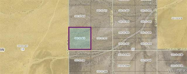 TBD Solomon Road, Dolan Springs, AZ 86441 (MLS #973914) :: The Lander Team