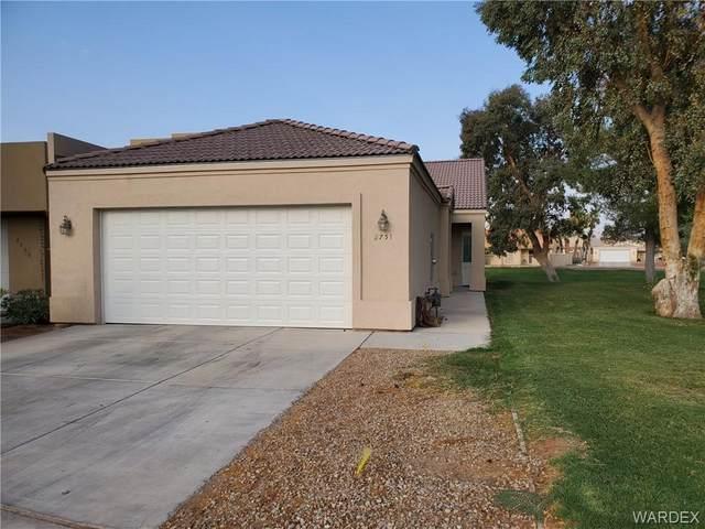2751 Country Club Drive, Bullhead, AZ 86442 (MLS #973926) :: The Lander Team