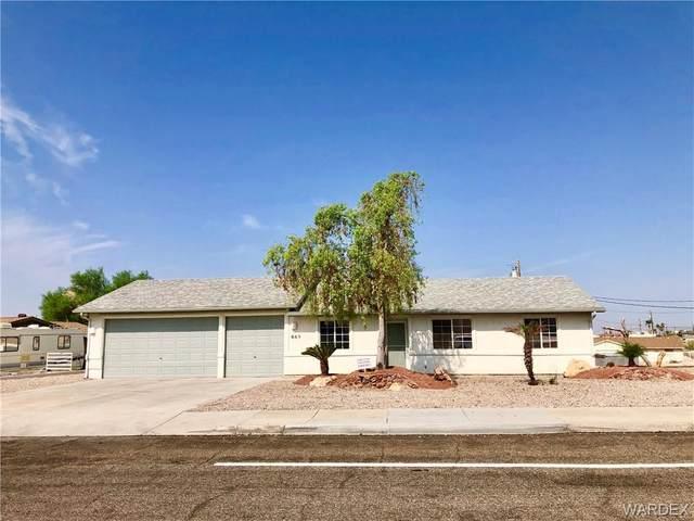 665 Thunderbolt Avenue, Lake Havasu, AZ 86406 (MLS #973954) :: The Lander Team