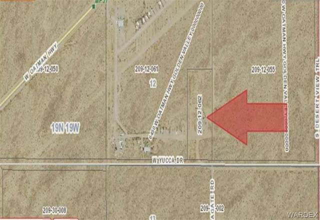 6405 Yucca Drive, Golden Valley, AZ 86413 (MLS #974600) :: The Lander Team