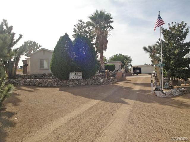 18193 N Sequoia Drive, Dolan Springs, AZ 86441 (MLS #974886) :: The Lander Team