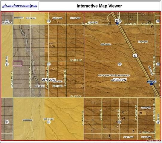 GTAC #7 S-25 LOT 72 Agate Road, Dolan Springs, AZ 86441 (MLS #974923) :: The Lander Team