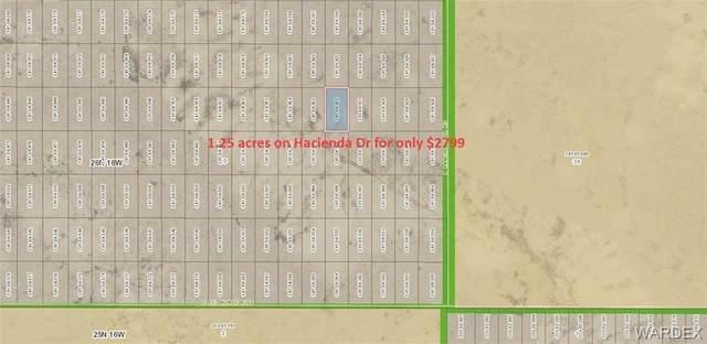 Lot 3860 E Hacienda Drive, Kingman, AZ 86409 (MLS #977207) :: The Lander Team
