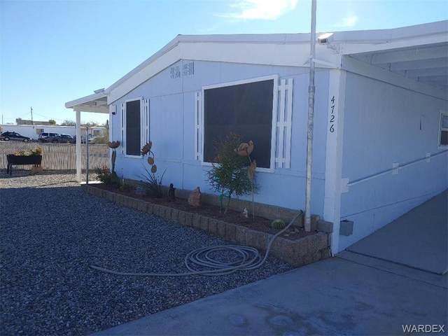4726 E Pinta Drive, Topock/Golden Shores, AZ 86436 (MLS #977456) :: The Lander Team