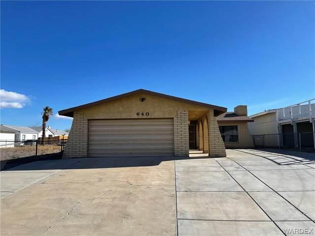 640 Riverfront Drive, Bullhead, AZ 86442 (MLS #977690) :: AZ Properties Team | RE/MAX Preferred Professionals