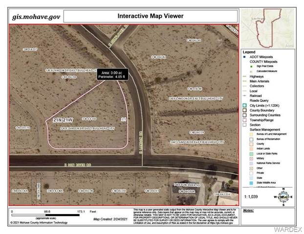3436 Landon Drive, Bullhead, AZ 86429 (MLS #977900) :: The Lander Team