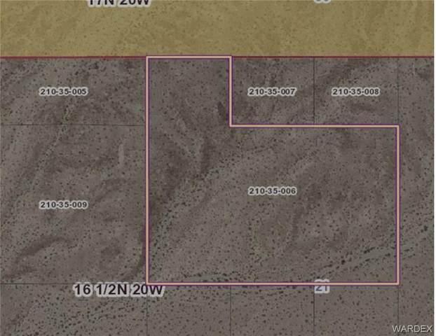 17 Acres Topock Area, Topock/Golden Shores, AZ 86436 (MLS #978345) :: The Lander Team