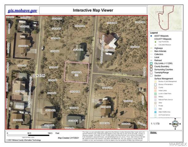 TBD N Bluff Street, Golden Valley, AZ 86413 (MLS #978488) :: AZ Properties Team | RE/MAX Preferred Professionals
