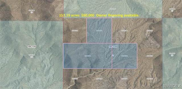 157.19 acres Unknown Rd, Wikieup, AZ 85360 (MLS #979607) :: The Lander Team
