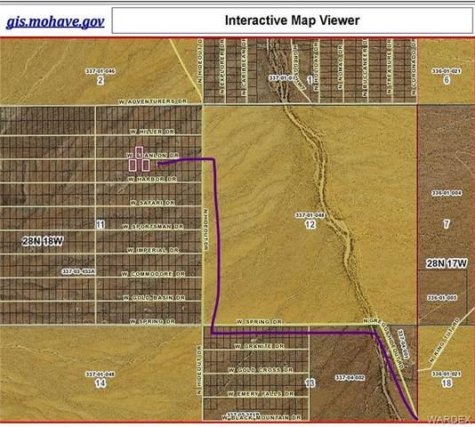LAKE MEAD RANCHOS #3 Scanlon Drive, Meadview, AZ 86444 (MLS #980111) :: The Lander Team