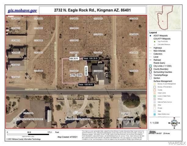 2732 N Eagle Rock, Kingman, AZ 86401 (MLS #980127) :: The Lander Team