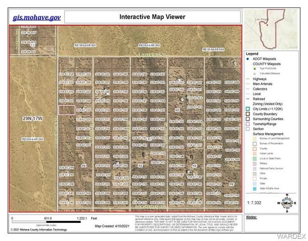 26916 N Sandy Point Drive, Meadview, AZ 86444 (MLS #980196) :: The Lander Team