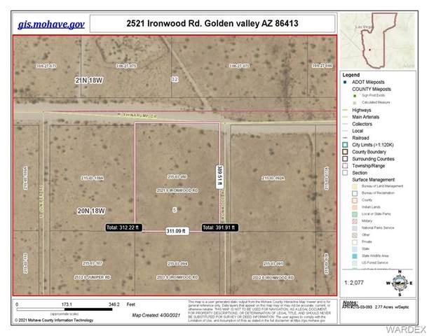 2521 S Ironwood Road, Golden Valley, AZ 86413 (MLS #980758) :: AZ Properties Team | RE/MAX Preferred Professionals