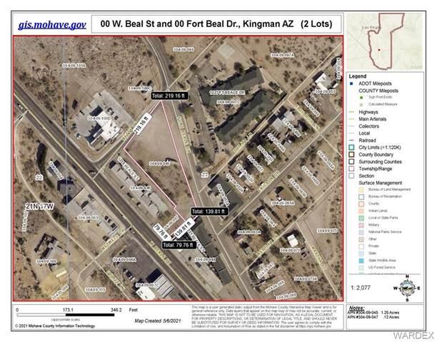 0000 Fort Beal Dr. W Beal St, Kingman, AZ 86401 (MLS #980931) :: The Lander Team