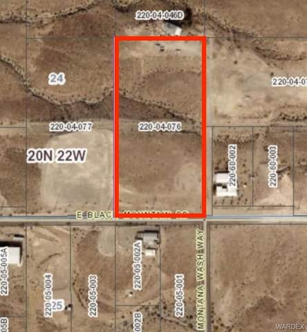 0000 Black Mountain Road, Bullhead, AZ 86442 (MLS #981010) :: AZ Properties Team   RE/MAX Preferred Professionals