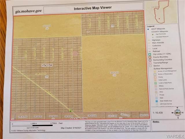 0000 E Raley Court, Yucca, AZ 86438 (MLS #981208) :: AZ Properties Team | RE/MAX Preferred Professionals